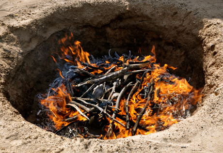 Pit Firing Ceremony